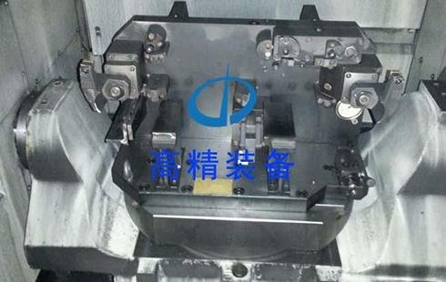 缸盖五轴液压夹具